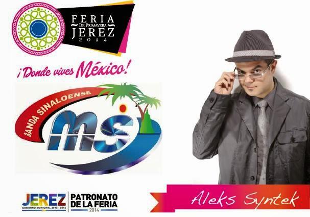 Banda MS feria jerez 2014