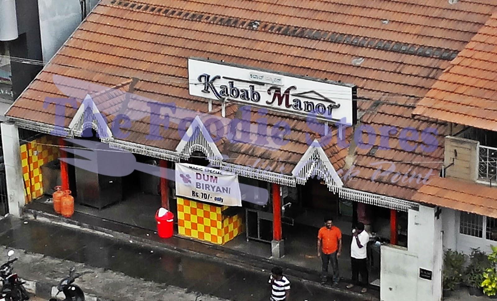 Kabab Manor, RT Nagar, Bangalore