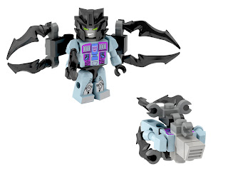 Hasbro Transformers Kre-O Micro Changers Combiners Series 2 - Tentakill (Seacons)