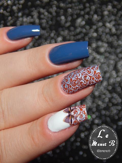 nail art laço