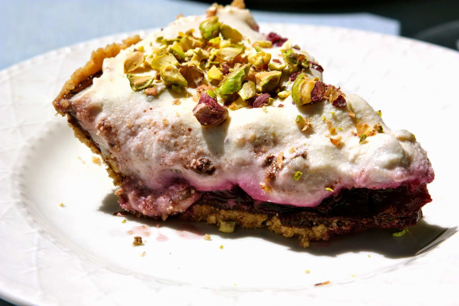 Cherry Cannoli Pie