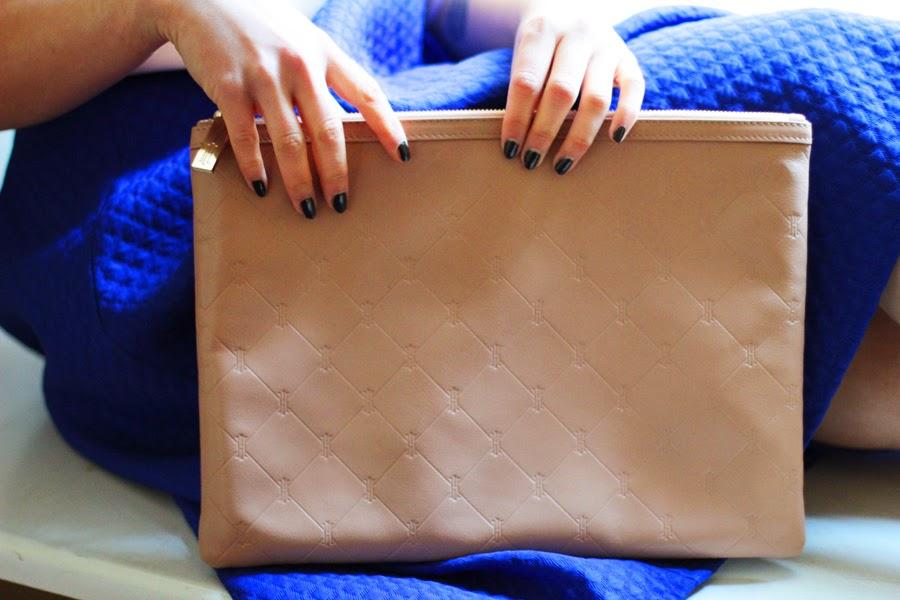 clutch bag detail fashion shooting