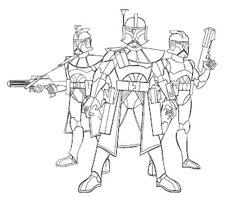 #6 Star Wars Coloring Page