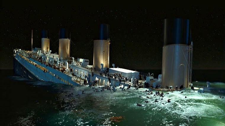 Гибель Титаника 20-го века.