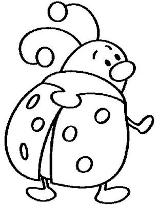 La Chachipedia: Dibujos de Mariquitas para colorear, gifs animados y ...