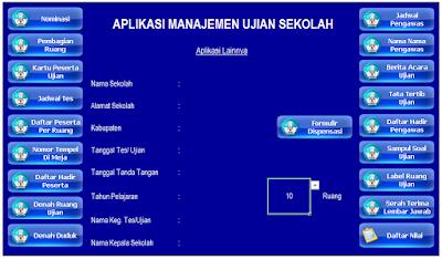 Software Manajemen Ujian Sekolah 2016