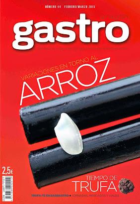 Variaciones sobre el ARROZ, en FEBRERO-MARZO