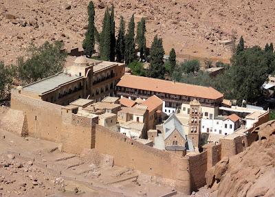 (Egypt) - Sharm el-Sheikh - St. Catherine's Monastery