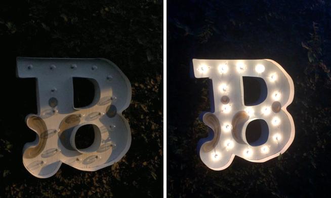 DIY Marquee Letter - Hello Boudreau