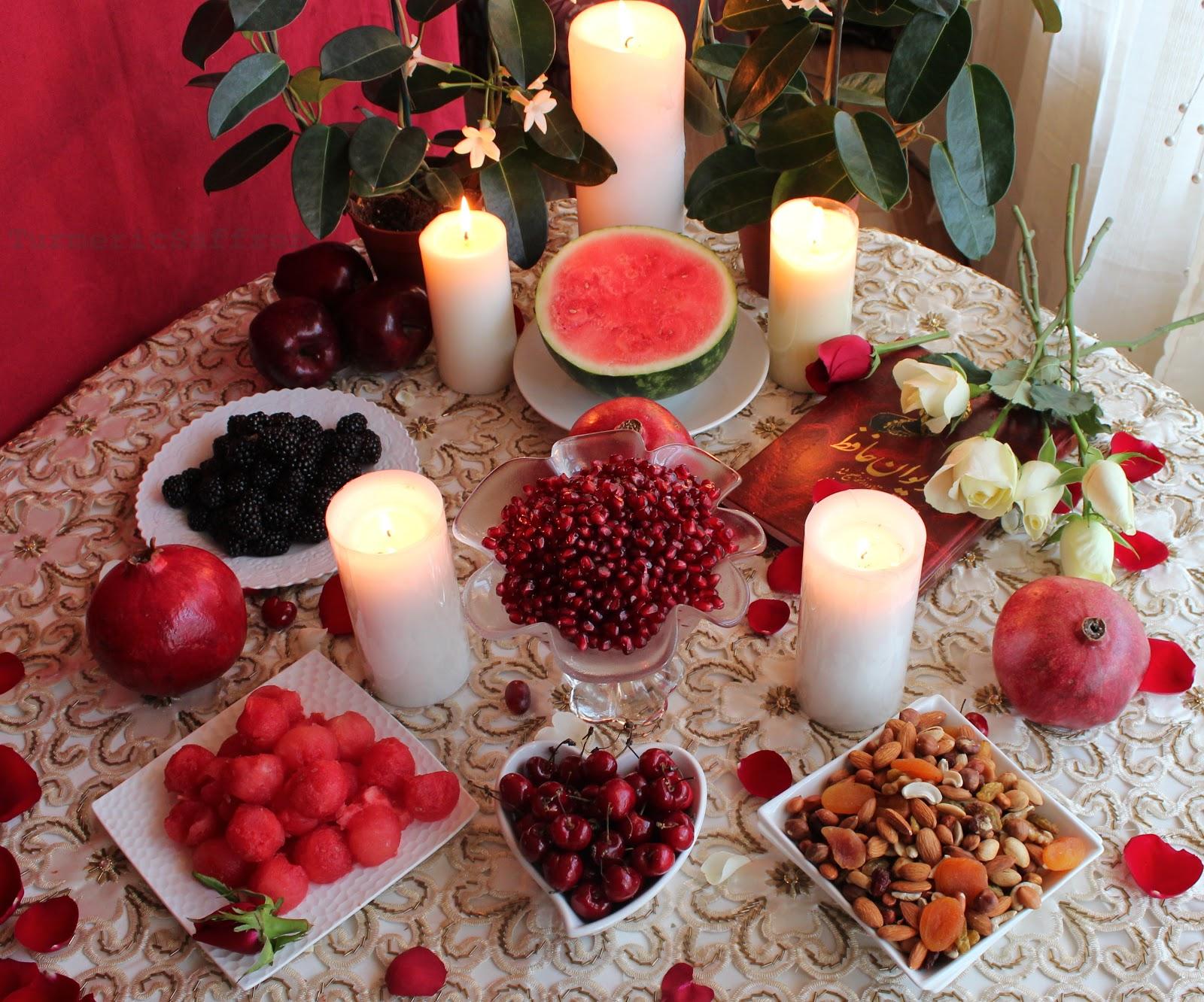 Turmeric & Saffron: Shab-e Yalda - The Longest Night of ...