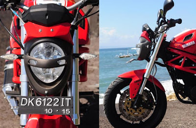Byson Modif Ducati Monster