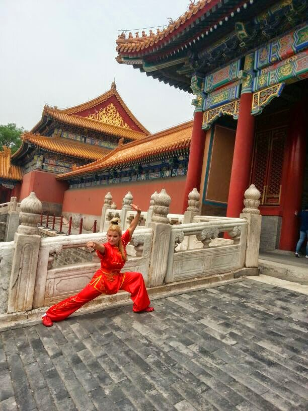 Kung Fu China Shifu Paty Lee Training 2014 in China Shaolin