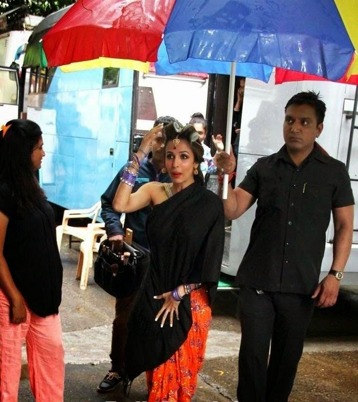 malaika arora khan on sets of dolly ki doli unseen new look of item song of malaika arora khan leaked hot pics 2014