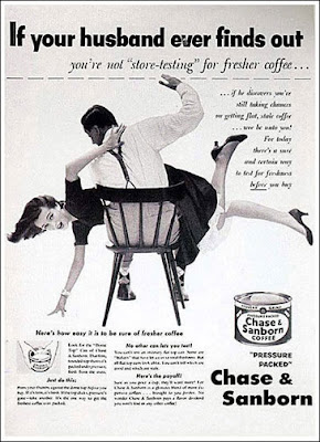 Vintage Sexist Chase and Sanborn Ad