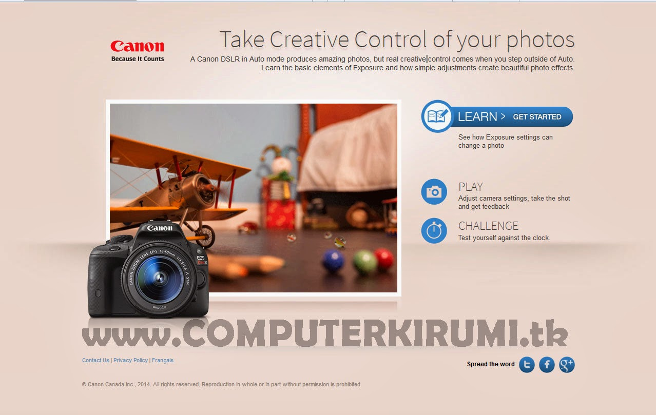 Learn How To Take Perfect Pictures in DSLR Camera By taking Photos Online