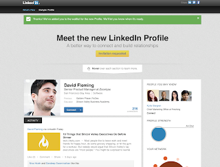 Meet the New LinkedIn Profile