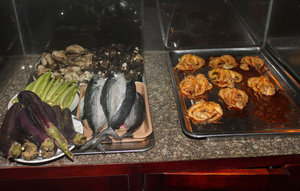 Fishes & octopus for grilling - Vũng Tàu city