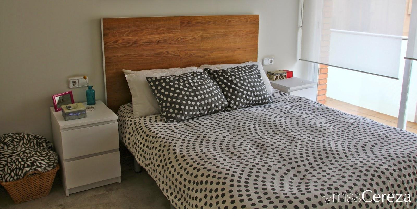 Miss Cereza DIY cambiando un cabecero de cama de ikea