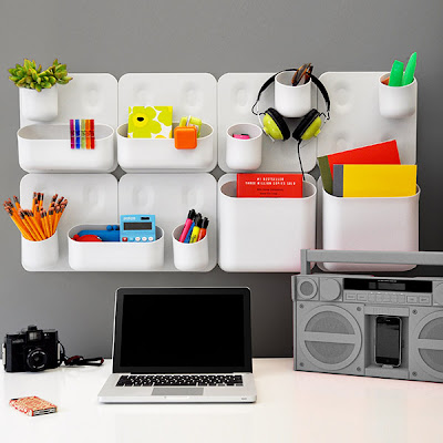 modular wall storage pockets