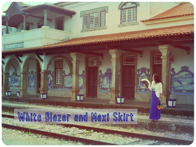 White-blazer-and-maxi-skirt