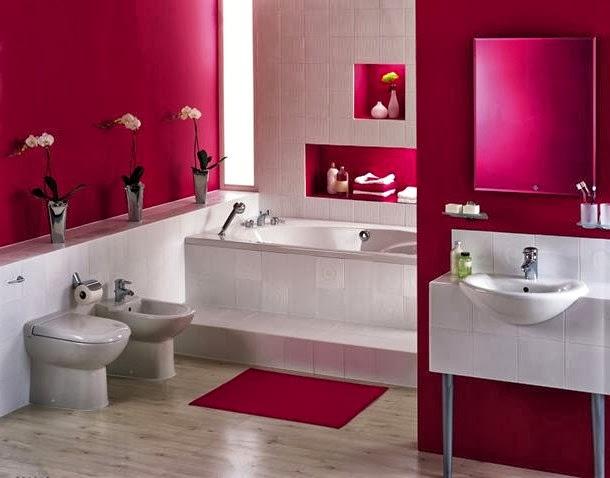 Bricolage e Decoração Ideias para Decoração de Casa de Banho(Banheiro) em  -> Decoracao Banheiro Moderna
