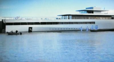 Kapal mewah peninggalan Steve Jobs