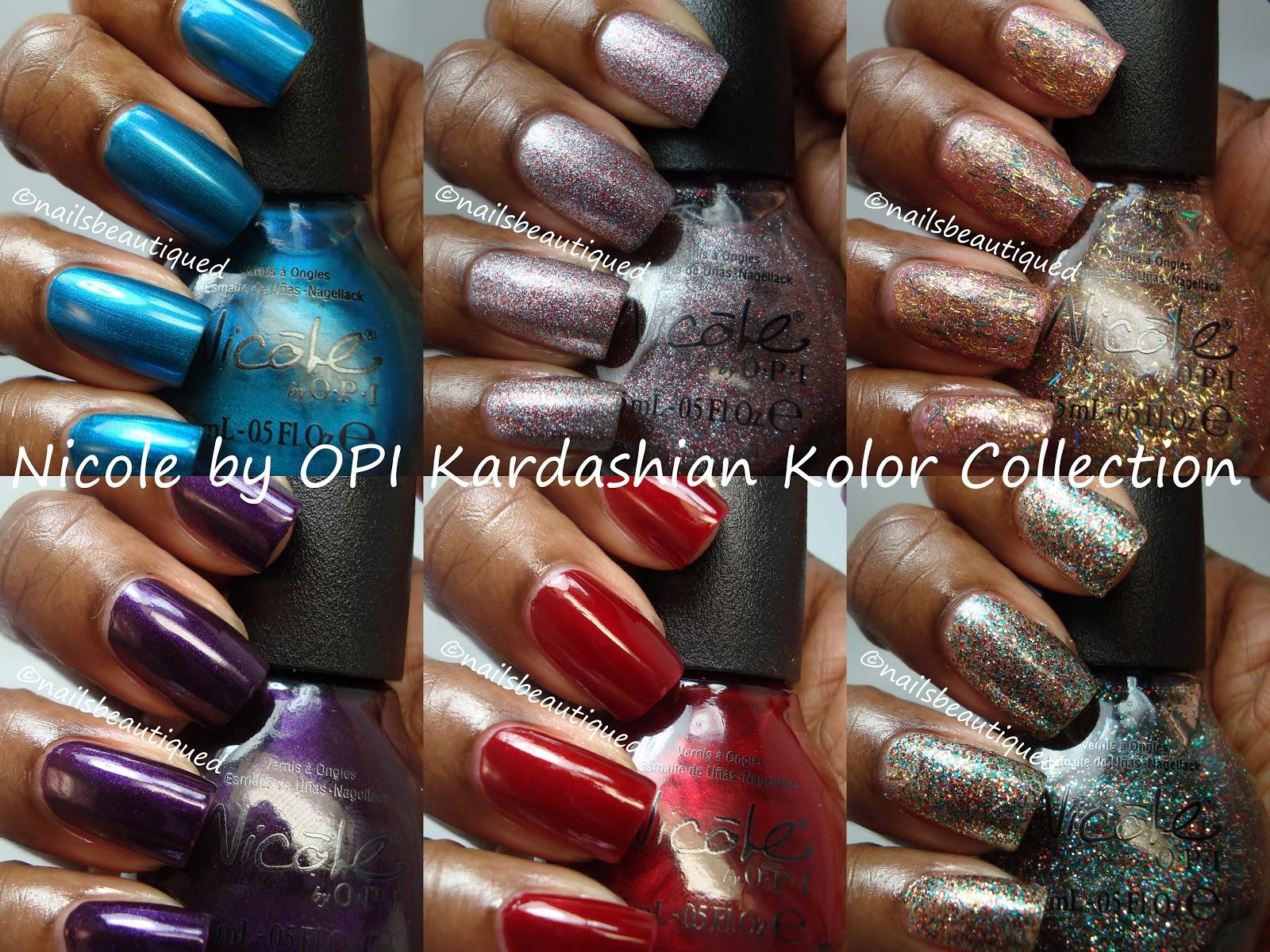 unbitten polish: Nicole By OPI Kardashian Kolor Holiday 2012 ...