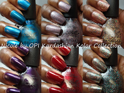 Nicole by OPI Kardashian Kolor Holiday 2012 Collection