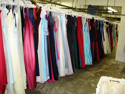 Prom Dresses Cleaned at Janet Davis Cleaners