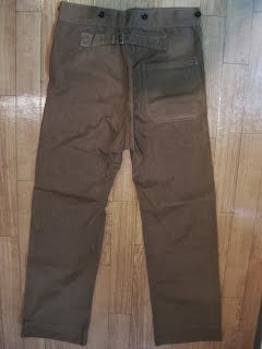 VERY OLD BROWNダック PANTS