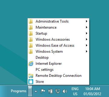 كيفية استعادة زر قائمة Start لويندوز 8