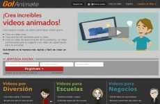 Crear videos animados GoAnimate
