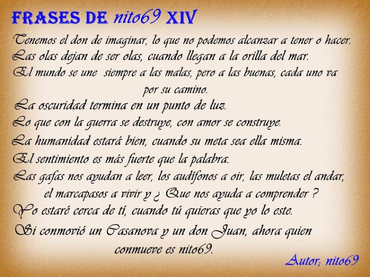 FRASES DE nito69 XIV