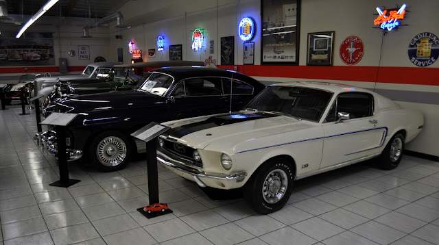 Just A Car Guy overall photos of the car collection in
