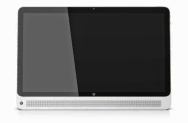 передняя сторона моноблока HP Slate 17