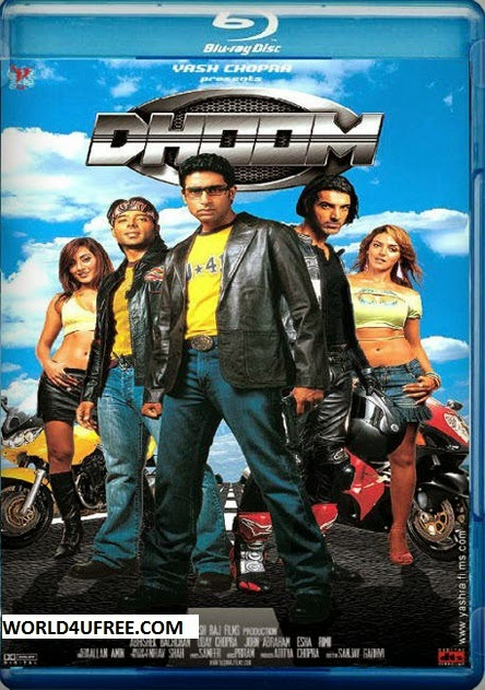 Dhoom 2004 BluRay 480p 400mb ESub