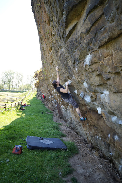 bouldering, climbing, Lancashire, craig-y-longridge, uk