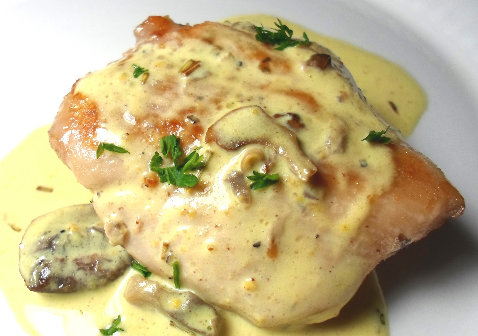 Show #136 Sauteed Chicken with Mushroom Cream Sauce