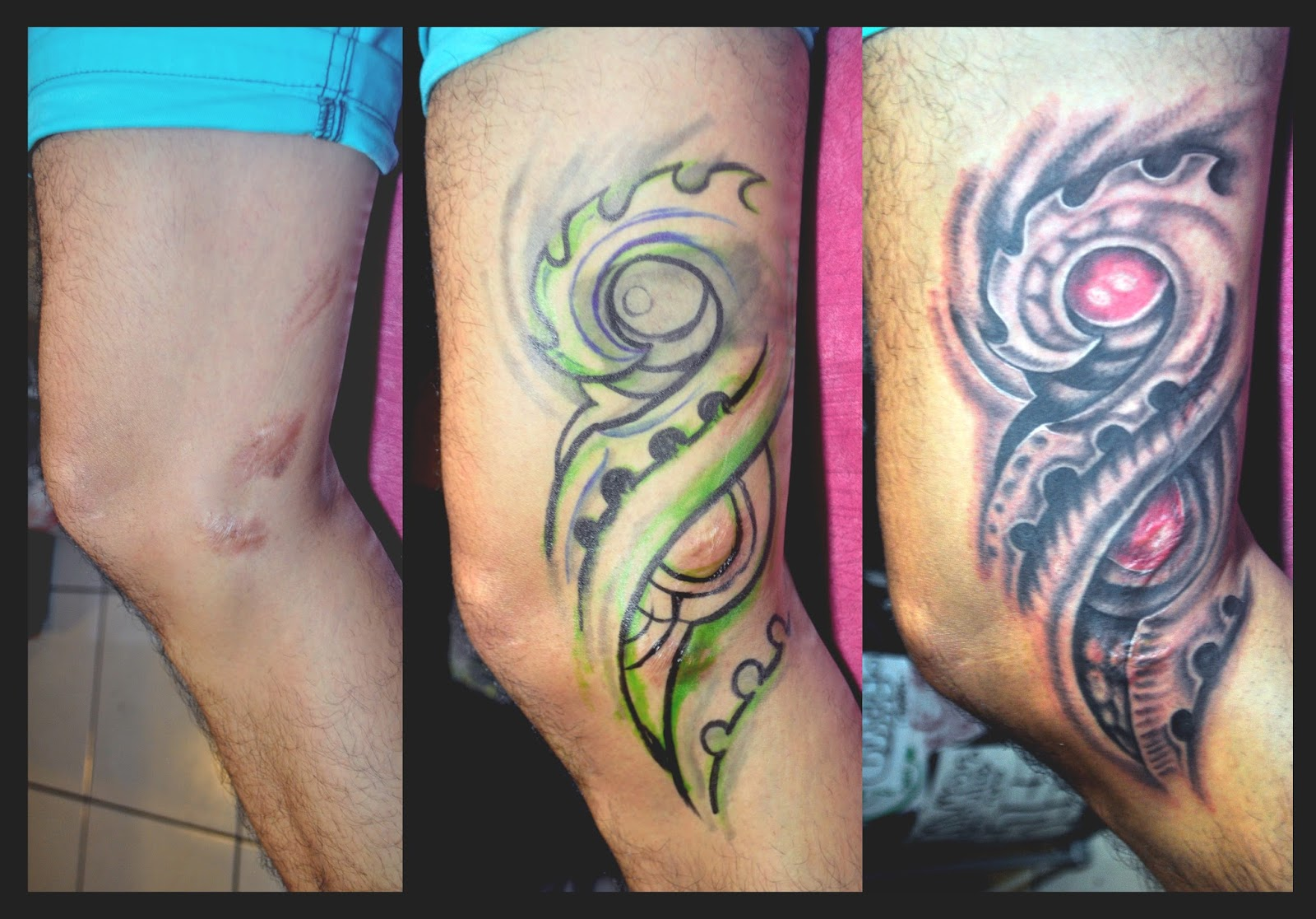 Nikko Samson Tattoo: COVER UPS (Stretch Marks, Old Scars, and Bad ...