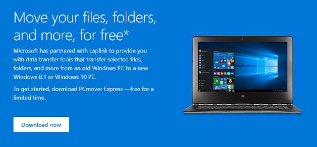 Microsoft te facilita la migración a Windows 10 ofreciendo gratis PCmover Express