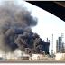 Gran explosión en una refinería de Detroit