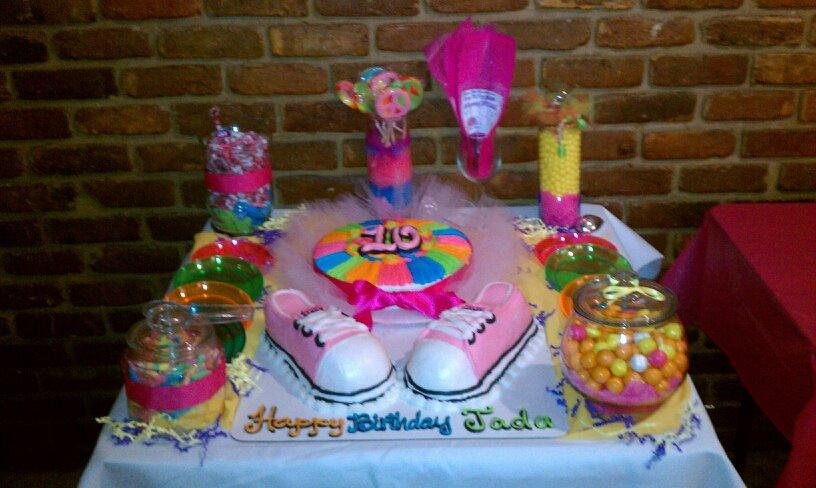 Tennis Shoes Cake Decorations