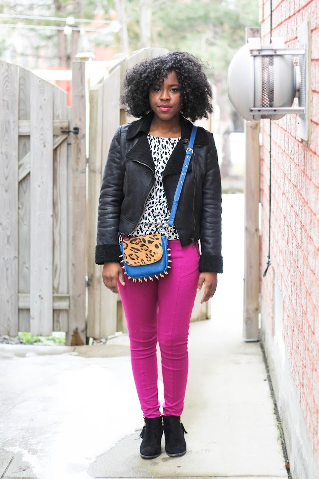 fashion blogger, personal style, h&m, shoedazzle booties, forever 21 jacket, canadian fashion blogger