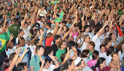 #JMJRio2013: Celebração encerra Semana Missionária em São Gonçalo (RJ)