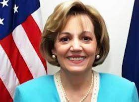 السفيرة الامريكية بالقاهرة