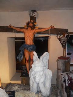 Jesucristo en la cruz.