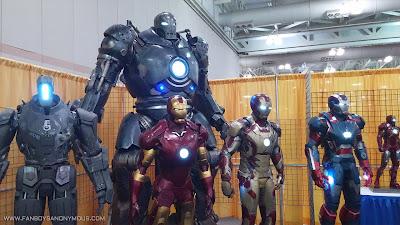 Iron Man 2 drone Stane Monger Extremis armor