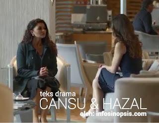 Sinopsis Cansu dan Hazal Episode 23