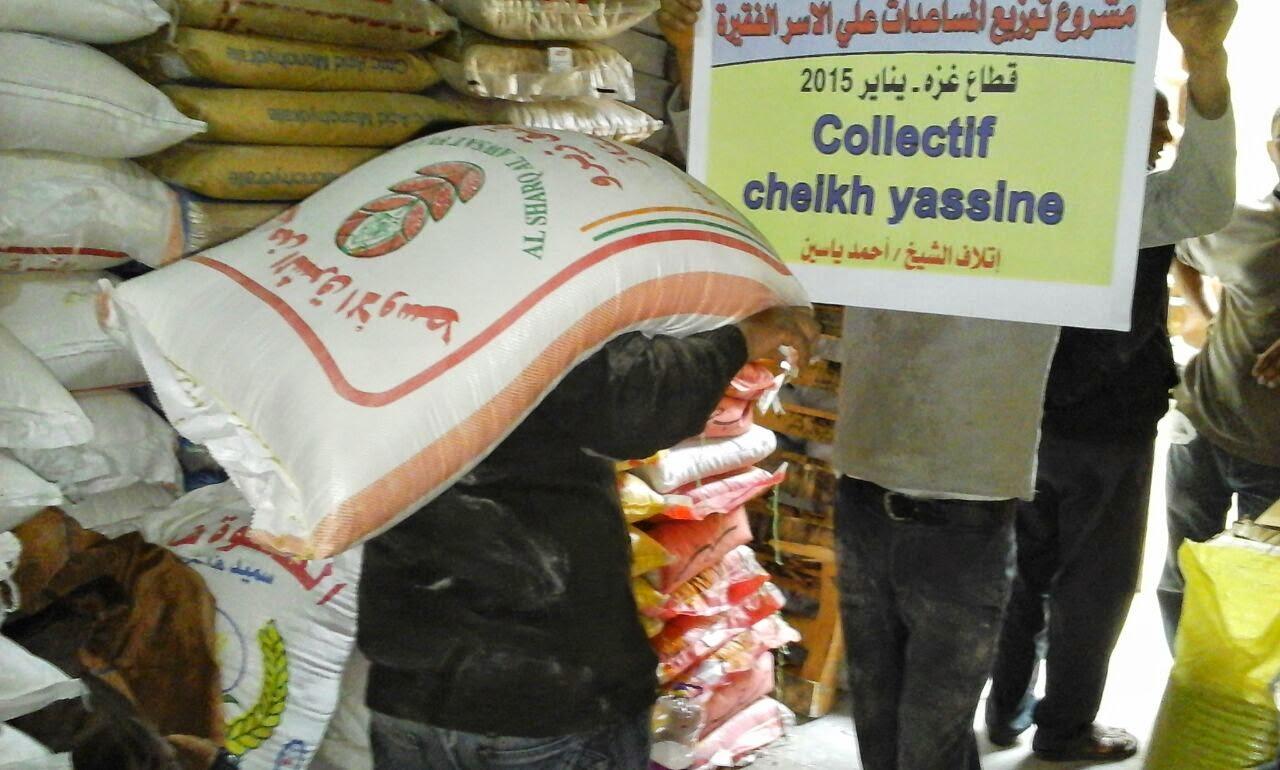 Un sac de farine pour Gaza, c'est peu et c'est beaucoup...