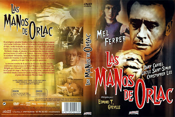 Carátula: Las manos de Orlac (1960) (The Hands of Orlac)